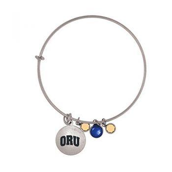 Oral Roberts University-Frankie Tyler Charmed Bracelet