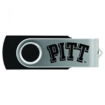 University of Pittsburgh -8GB 2.0 USB Flash Drive-Black