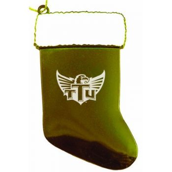 Tennessee Technological University - Christmas Holiday Stocking Ornament - Gold