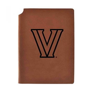 Villanova University Velour Journal with Pen Holder|Carbon Etched|Officially Licensed Collegiate Journal|