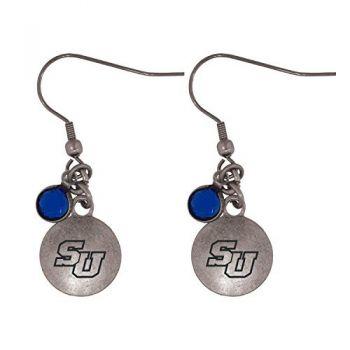 Stetson University-Frankie Tyler Charmed Earrings