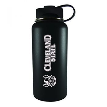 Cleveland State University -32 oz. Travel Tumbler-Black