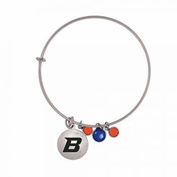 Boise State University-Frankie Tyler Charmed Bracelet
