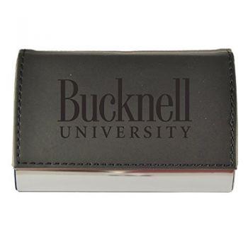 Velour Business Cardholder-Bucknell University-Black