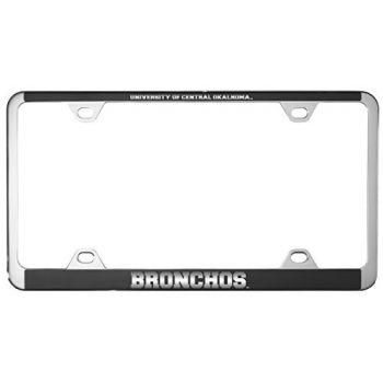 College of Charleston-Metal License Plate Frame-Black