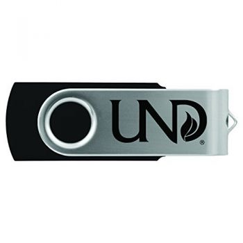 University of North Dakota-8GB 2.0 USB Flash Drive-Black