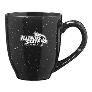 Illinois State University - 16-ounce Ceramic Coffee Mug - Black