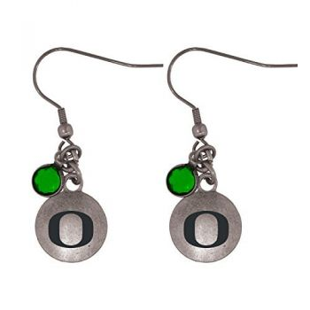 University Of Oregon-Frankie Tyler Charmed Earrings