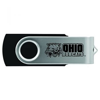 Ohio University -8GB 2.0 USB Flash Drive-Black