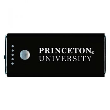 Princeton University -Portable Cell Phone 5200 mAh Power Bank Charger -Black