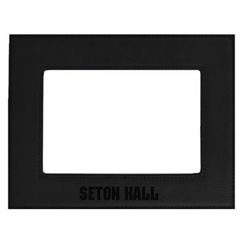 Seton Hall University-Velour Picture Frame 4x6-Black