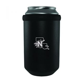 Northwestern State University -Ultimate Tailgate Can Cooler-Black