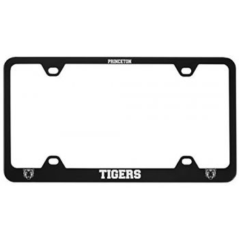 Princeton University -Metal License Plate Frame-Black