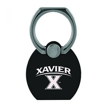 Xavier University|Multi-Functional Phone Stand Tech Ring|Black