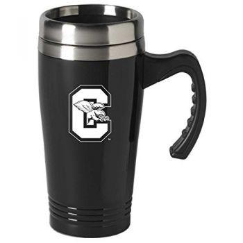Canisus College-16 oz. Stainless Steel Mug-Black