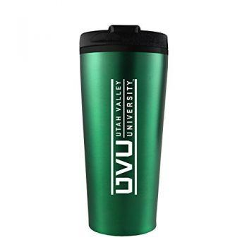 Utah Valley University -16 oz. Travel Mug Tumbler-Green