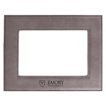 Emory University-Velour Picture Frame 4x6-Grey