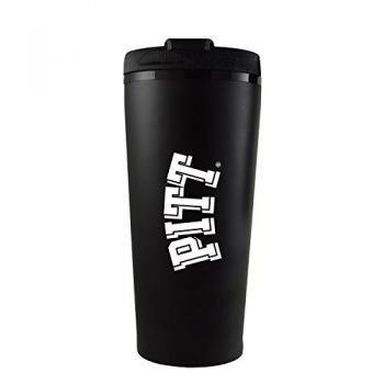 University of Pittsburgh -16 oz. Travel Mug Tumbler-Black