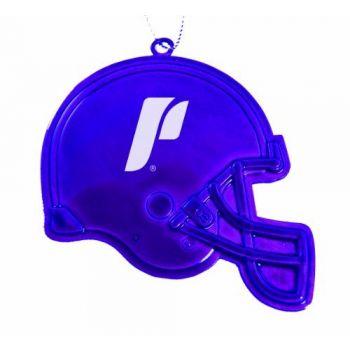University of Portland - Chirstmas Holiday Football Helmet Ornament - Purple