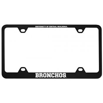 College of Charleston-Metal License Plate Frame-Black