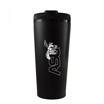 Alabama State University -16 oz. Travel Mug Tumbler-Black