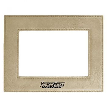 Bowling Green State University-Velour Picture Frame 4x6-Tan