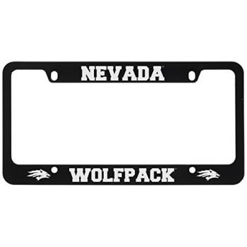University of Nevada -Metal License Plate Frame-Black