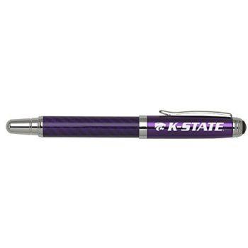Kansas State University - Carbon Fiber Rollerball Pen - Purple