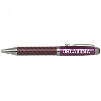 University of Oklahoma-Carbon Fiber Mechanical Pencil-Pink