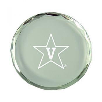 Vanderbilt University-Crystal Paper Weight