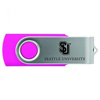 Seattle University -8GB 2.0 USB Flash Drive-Pink