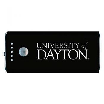 University of Dayton -Portable Cell Phone 5200 mAh Power Bank Charger -Black