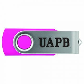 University of Arkansas at Pine Buff -8GB 2.0 USB Flash Drive-Pink
