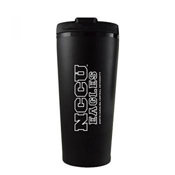 North Carolina Central University -16 oz. Travel Mug Tumbler-Black