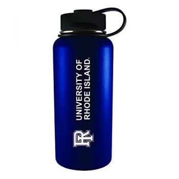 The University of Rhode Island -32 oz. Travel Tumbler-Blue