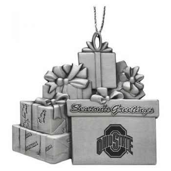 Ohio State University - Pewter Gift Package Ornament