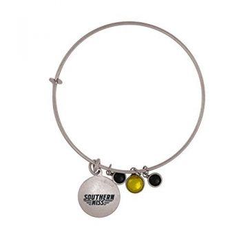 University of Southern Mississippi-Frankie Tyler Charmed Bracelet