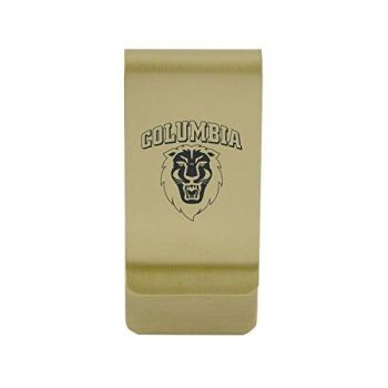 University of Colorado|Money Clip with Contemporary Metals Finish|Solid Brass|High Tension Clip to Securely Hold Cash, Cards and ID's|Silver