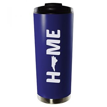 16 oz Vacuum Insulated Tumbler with Lid - North Carolina Home Themed - North Carolina Home Themed