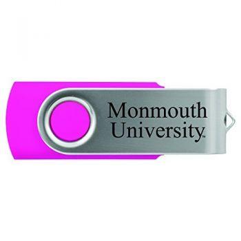 Monmouth University -8GB 2.0 USB Flash Drive-Pink