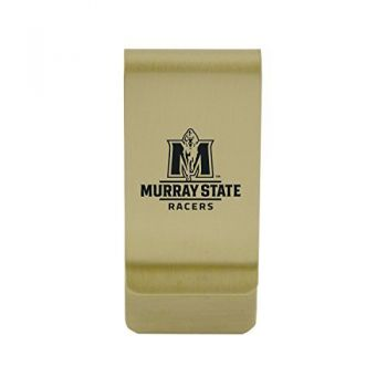 Montana State University|Money Clip with Contemporary Metals Finish|Solid Brass|High Tension Clip to Securely Hold Cash, Cards and ID's|Silver