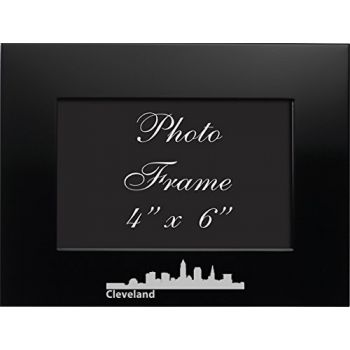 4 x 6  Metal Picture Frame - Cleveland City Skyline