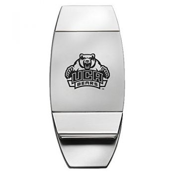 University of Central Arkansas - Two-Toned Money Clip - Silver