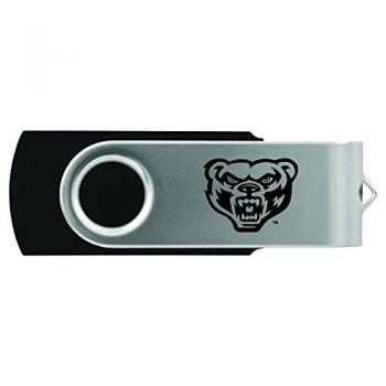 Oakland University -8GB 2.0 USB Flash Drive-Black