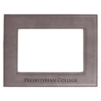 Presbyterian College-Velour Picture Frame 4x6-Grey