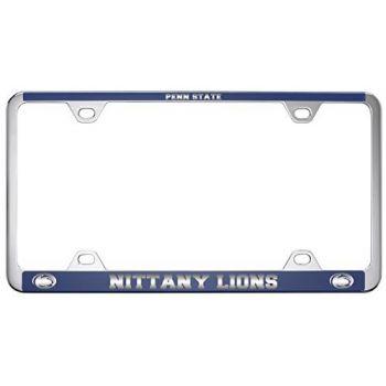 The Pennsylvania State University -Metal License Plate Frame-Blue