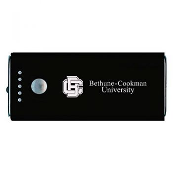 Bethune-Cookman University-Portable Cell Phone 5200 mAh Power Bank Charger -Black