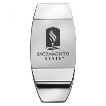 Sacramento State University - Two-Toned Money Clip
