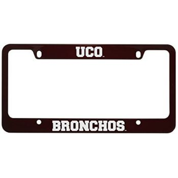 College of Charleston-Metal License Plate Frame-Burgundy