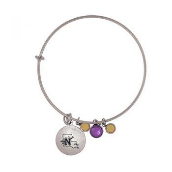 Northwestern State University-Frankie Tyler Charmed Bracelet